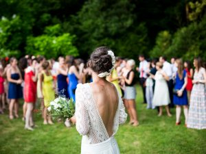 Make the most of nature's beauty and plan a garden wedding